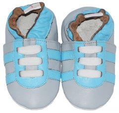Babyslofjes Grey Blue Trainers