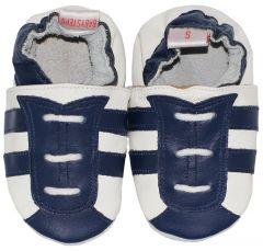 Babyslofjes Navy Blue Stripe