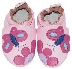 Babyslofjes Pink Butterfly