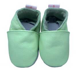 Babyslofjes Plain Lime