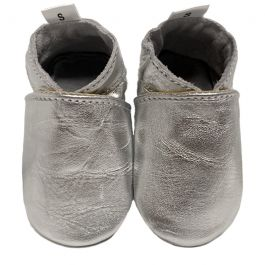 Babyslofjes Plain Silver