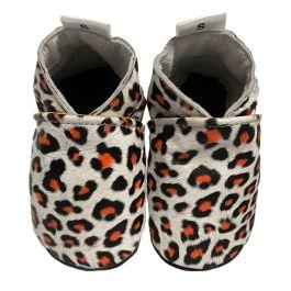 Babyslofjes White Leopard