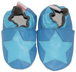 Babyslofjes Blue Stars