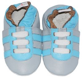 Babyslofjes Grey blue Trainers