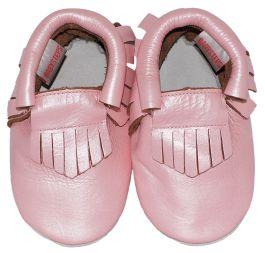 Moccasins Pink Ibiza Style
