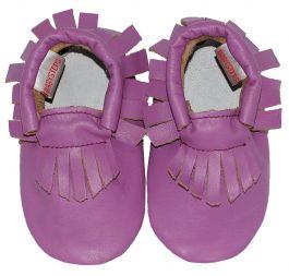 Moccasins Purple Ibiza Style