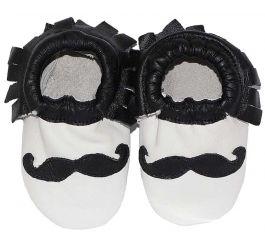 Moccasins Mustache Ibiza Style