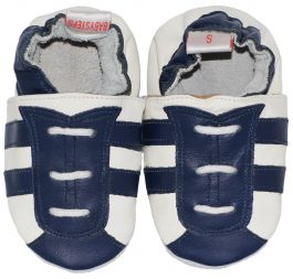 Babyslofjes Navy Blue Stripe