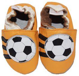 Babyslofjes Orange Soccer