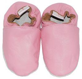 Babyslofjes Plain Pink